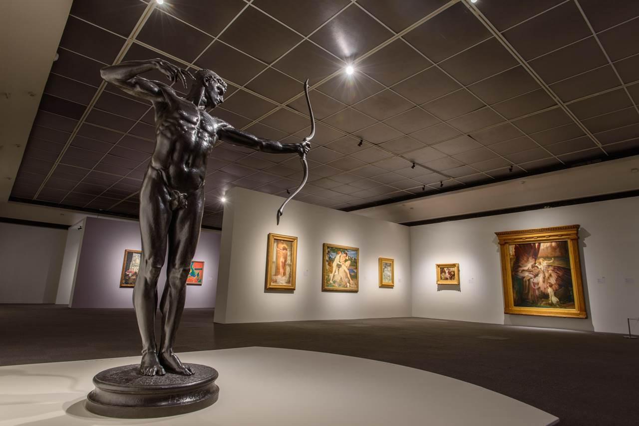 高雄市立美術館《裸:泰德美術館典藏大展》。(圖/文 聯合數位文創提供)