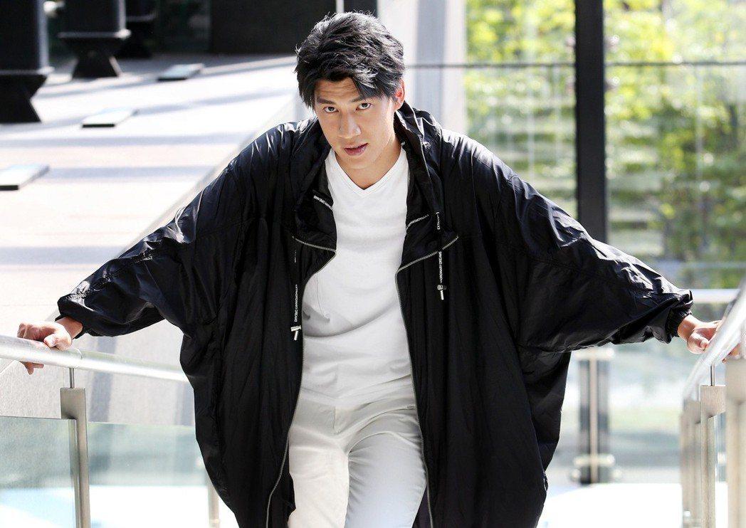 三立偶像劇「高校英雄傳」男主角羅宏正。記者侯永全/攝影
