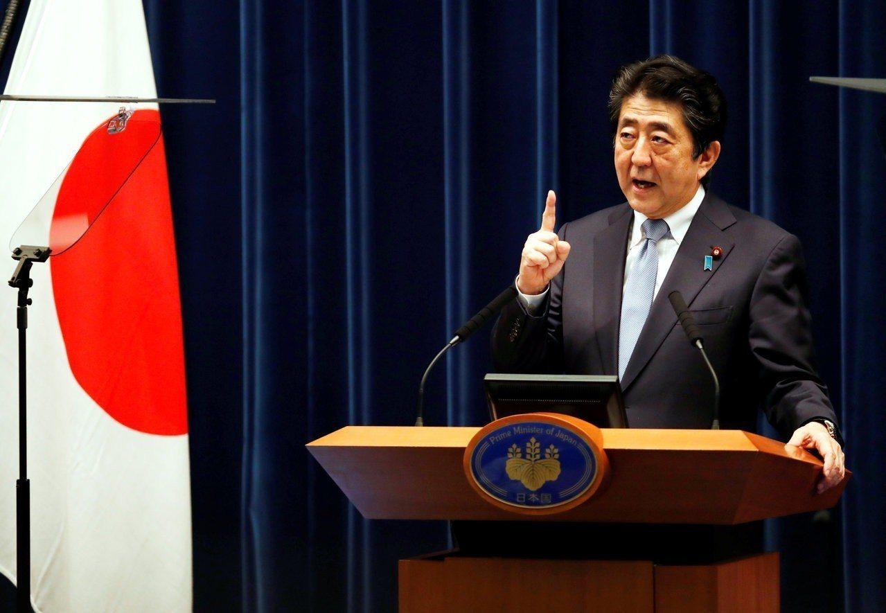 日本經濟第2季重回成長,首相安倍晉三鬆了一口氣。 路透