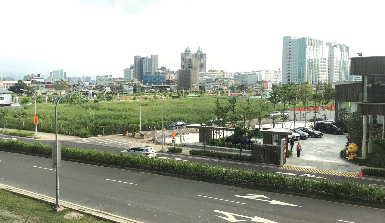 二重疏洪道重劃區 記者游智文/攝影