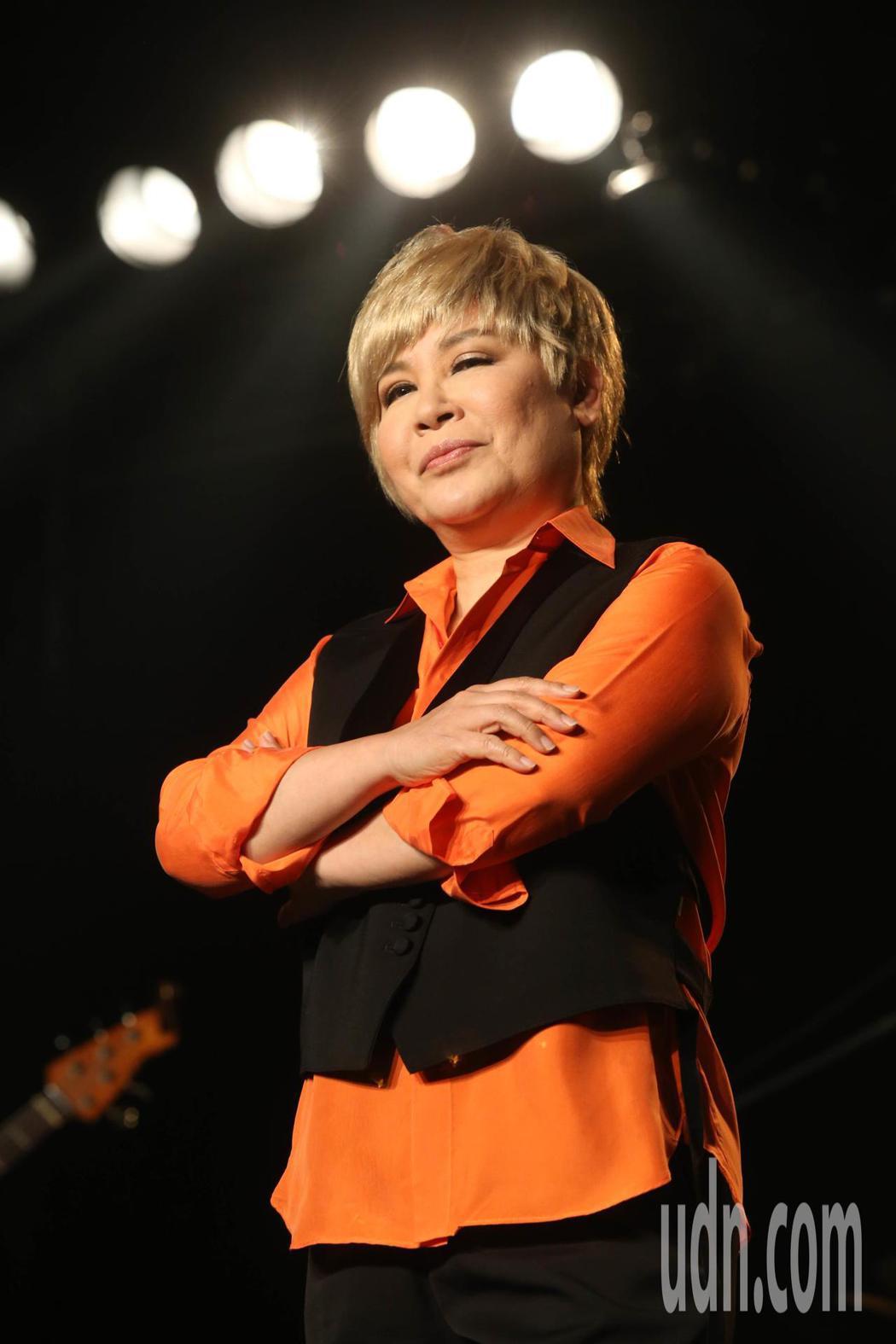 黃小琥《Cause I Dont Care》演唱會台北場 彩排。記者林俊良/攝影