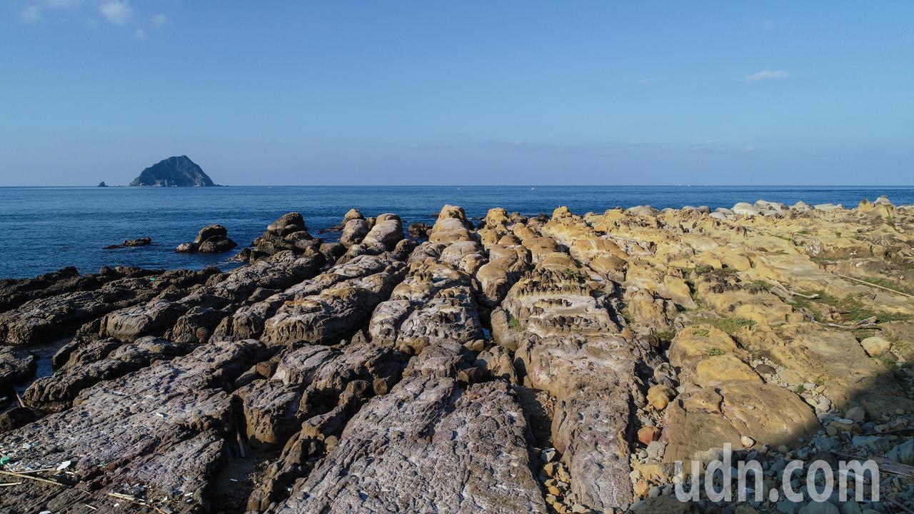 基隆和平島公園秘境阿拉寶灣。記者許正宏/攝影