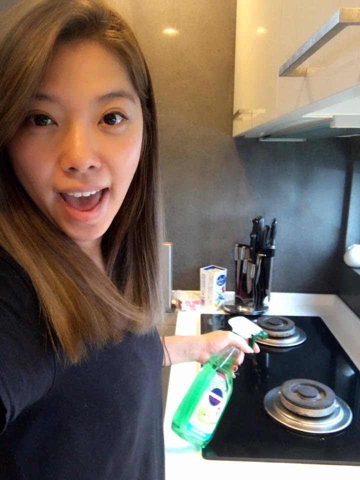 阿弟的老婆Mei常在節目中分享家庭生活,私下則常直播。圖/Mei臉書