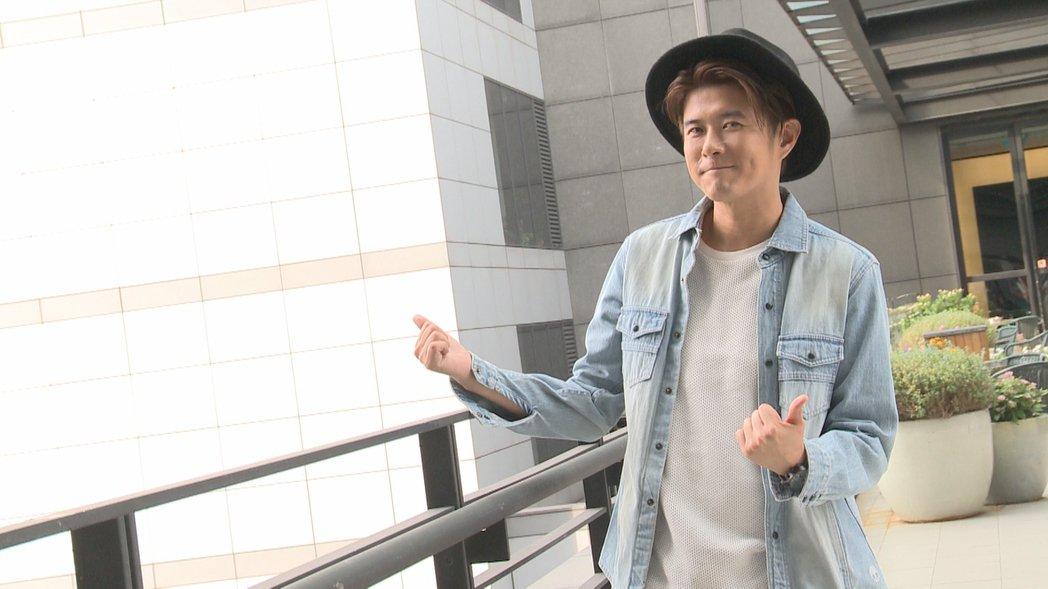 顏永烈未來期待兼顧主持和演戲。記者傅啟皇/攝影