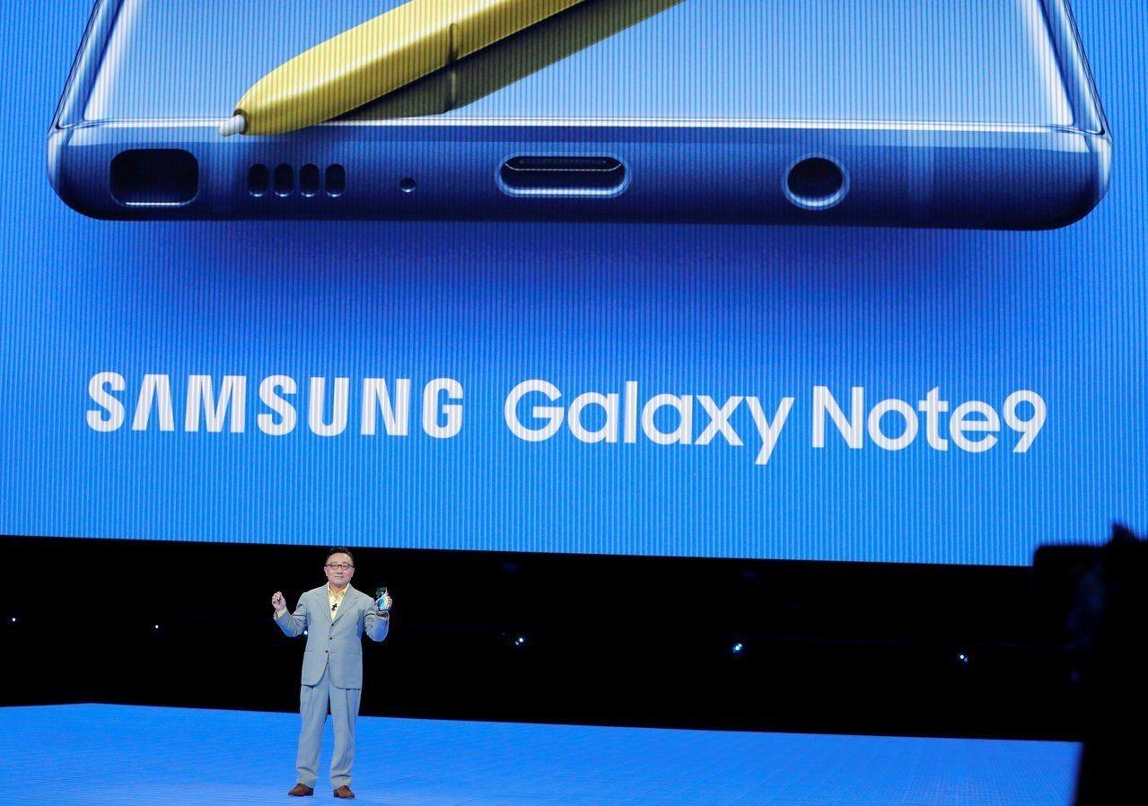 三星新旗艦手機Galaxy Note 9創新少,最大科技創新可能只有藍芽觸碰筆S...