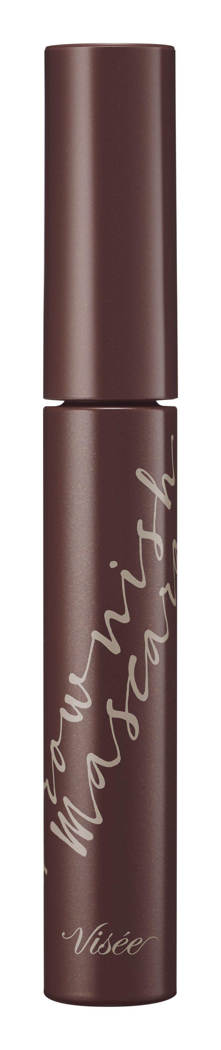 Visee柔彩捲翹濃睫膏#BR300日光咖啡,售價370元,9月1日上市。圖/V...