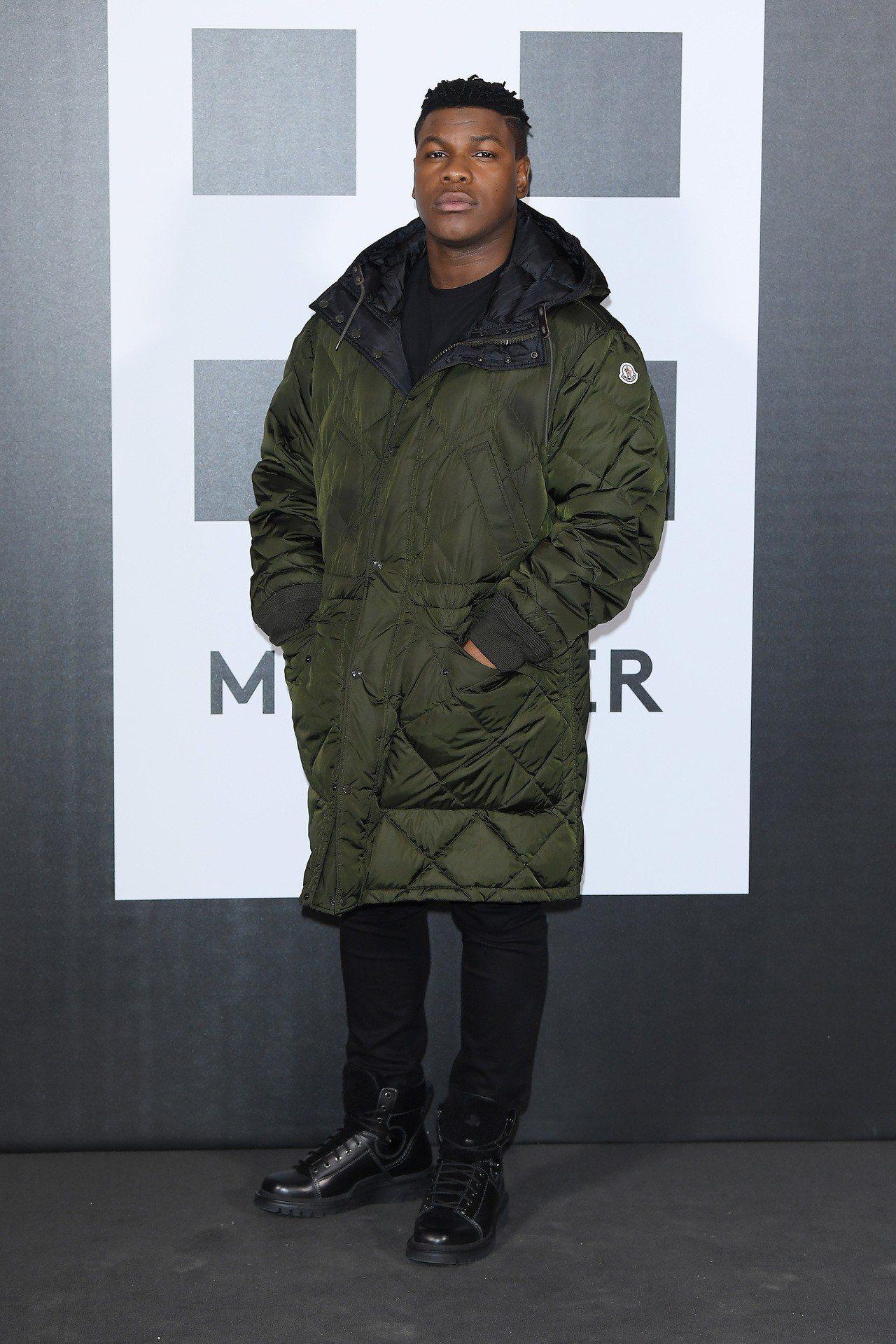 MONCLER平面Genius 計畫品牌大使John Boyega。圖/MONC...