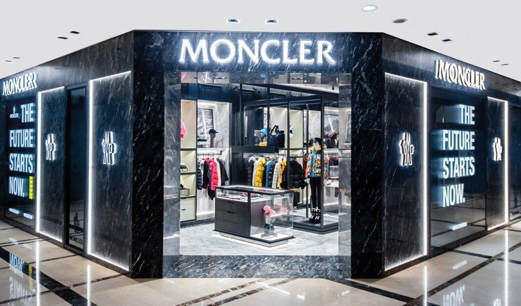 MONCLER的台北新光三越A4 店大約有37坪。圖/MONCLER提供