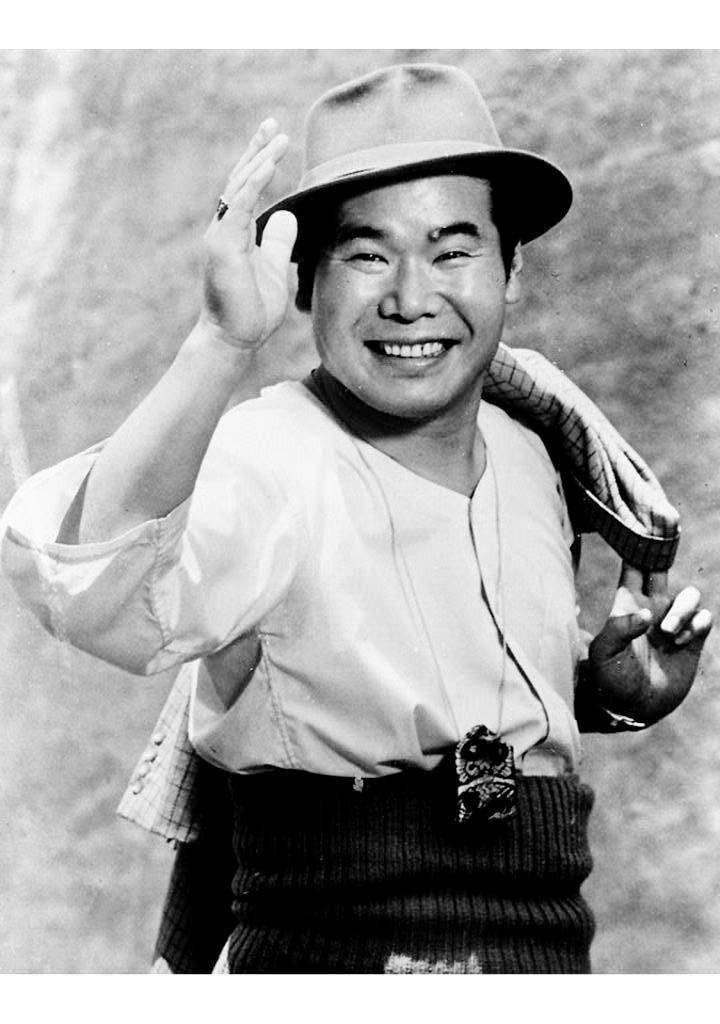 已故日本男星渥美清是民眾心目中的國民天王。 法新社