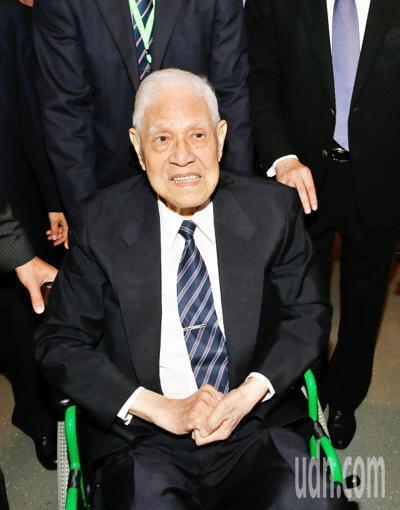 前總統李登輝。 聯合報系資料照/記者鄭超文攝影