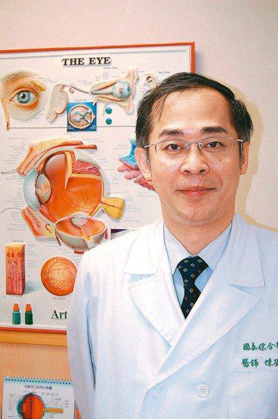 新竹國泰綜合醫院眼科陳瑩山醫師。 圖/陳瑩山提供