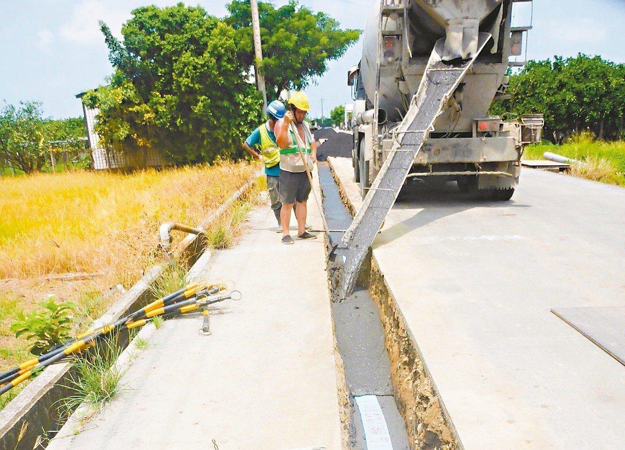 麻豆區北勢里加輦邦居民長期使用地下水,近日施作自來水延管工程,預計9月中完工。 ...