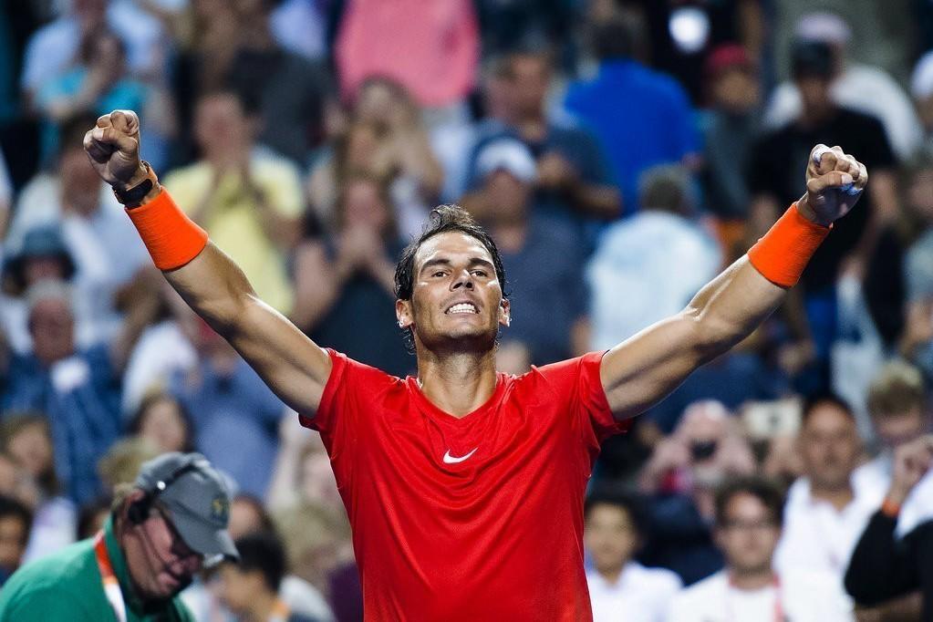納達爾硬地賽首站開紅盤,晉級多倫多網賽4強,為美網打打下好兆頭。 美聯社