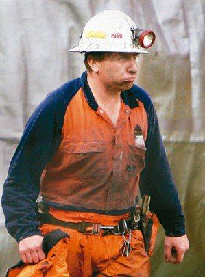 澳洲比肯斯菲爾德礦場的礦工。 美聯社