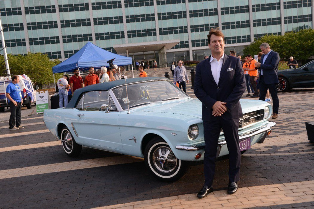 Ford Mustang是美國暢銷的跑車。 摘自Ford