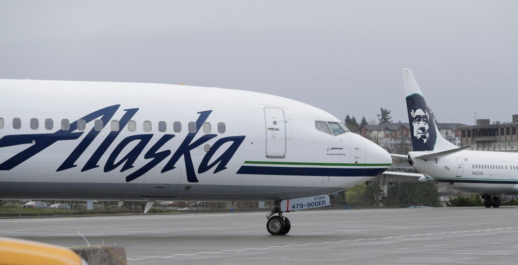 據美國全國廣播公司消息,阿拉斯加航空公司(Alaska Airlines)稱被盜...