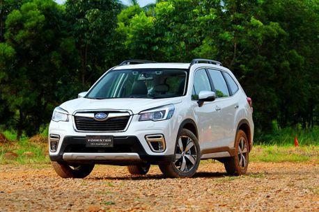 慶賀Subaru連續十年銷售正成長 新世代Forester優惠價99.8萬元起