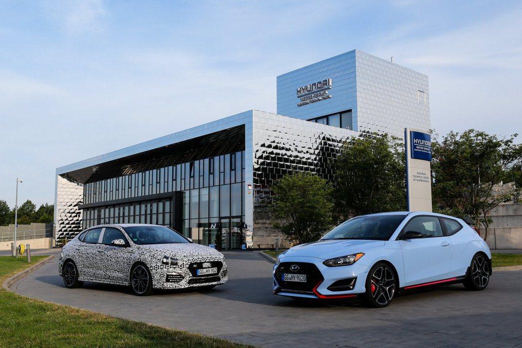 目前Hyundai N Performance旗下共有三款車型(i30 Fast...