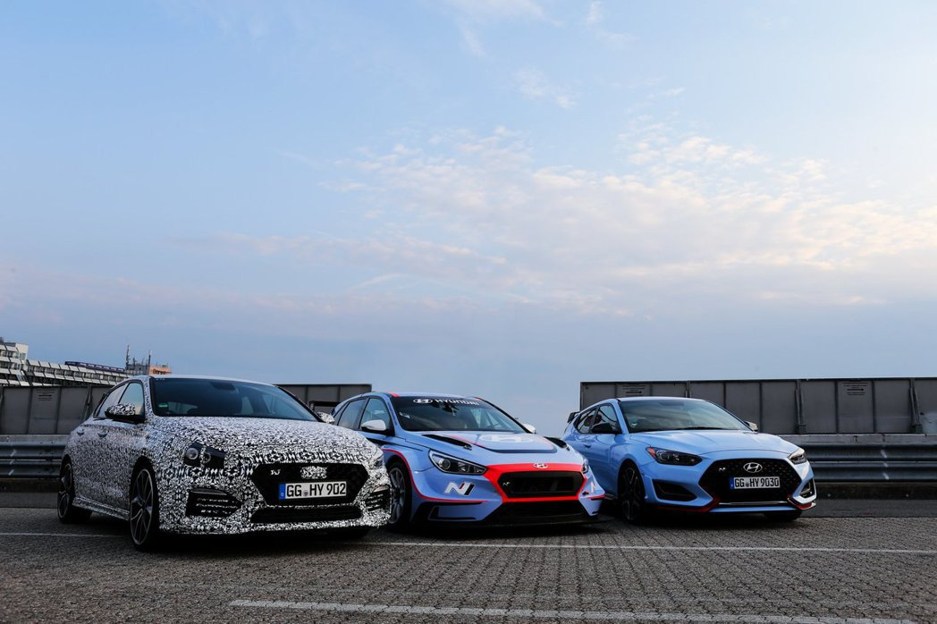 全新Hyundai i30 Fastback N將在今年舉辦的巴黎車展上發表。 ...