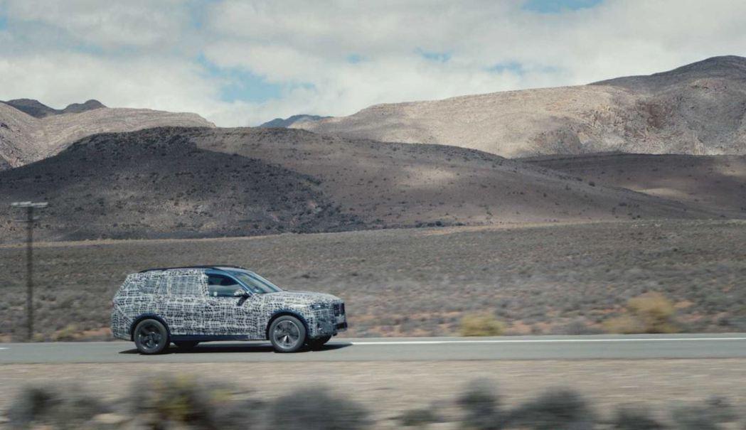 全新BMW X7將在今年冬季發表。 摘自BMW
