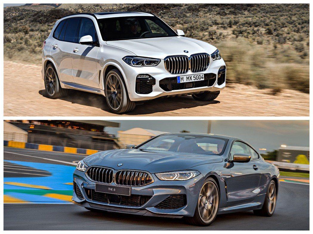 新世代BMW X5(G05)與新世代BMW 8 Series Coupe(G15...