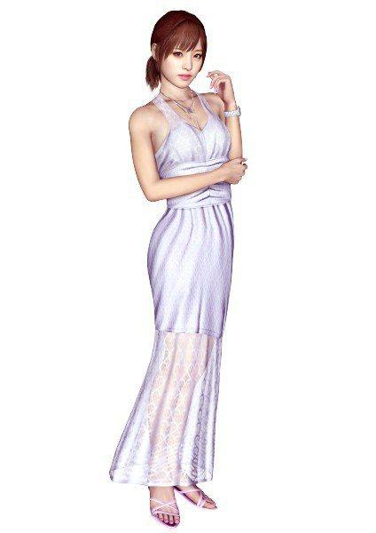 桃乃木香奈於《人中之龍3》的 CG 扮相。