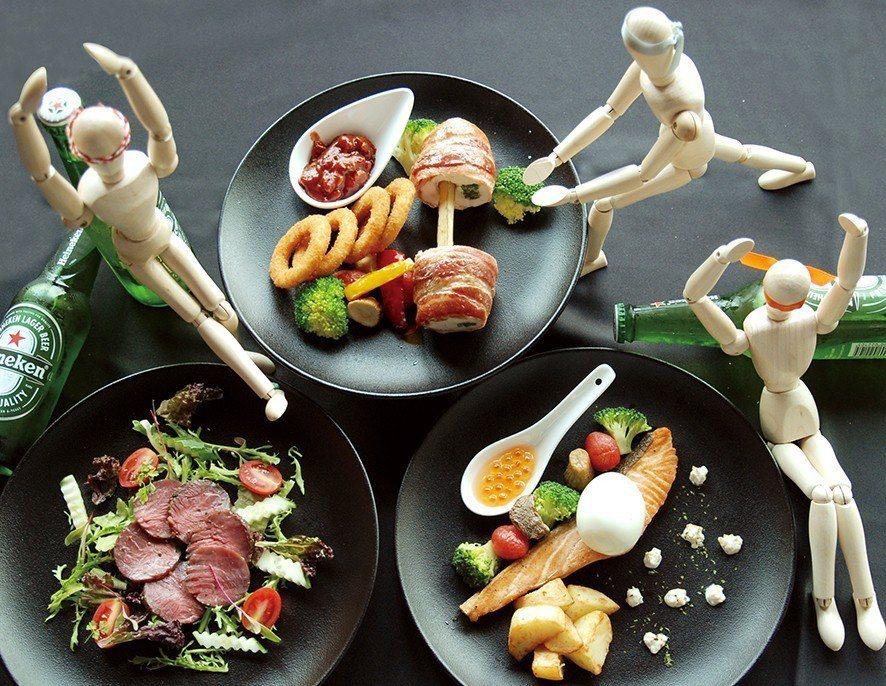 台中亞緻大飯店將舉辦 「啤酒有氧夏日派對」,邀請健身教練進行「啤酒有氧」教學帶動...