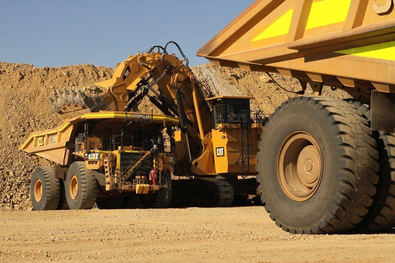 西澳礦場作業畫面。歐新社