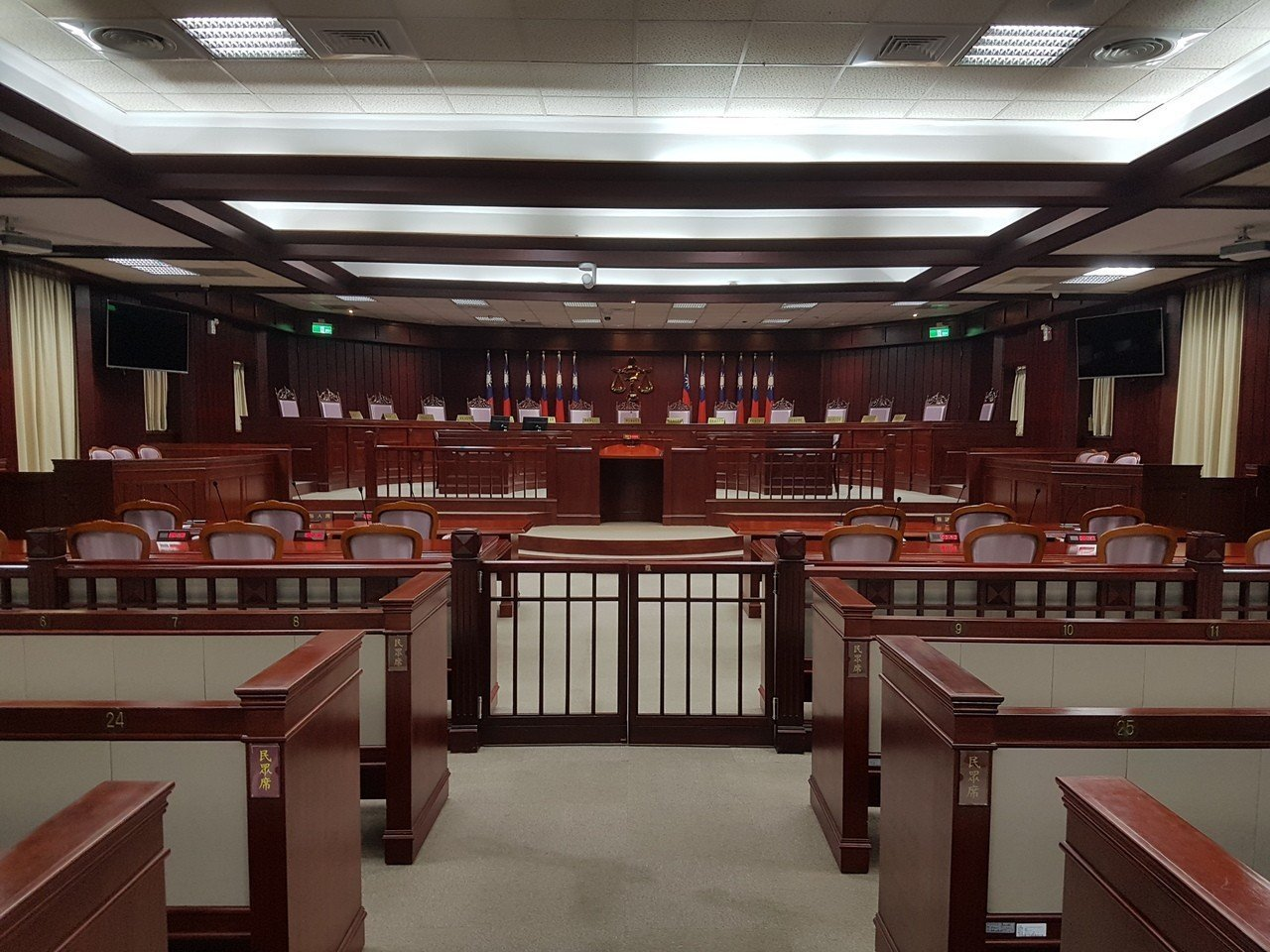 憲法法庭。聯合報系資料照片