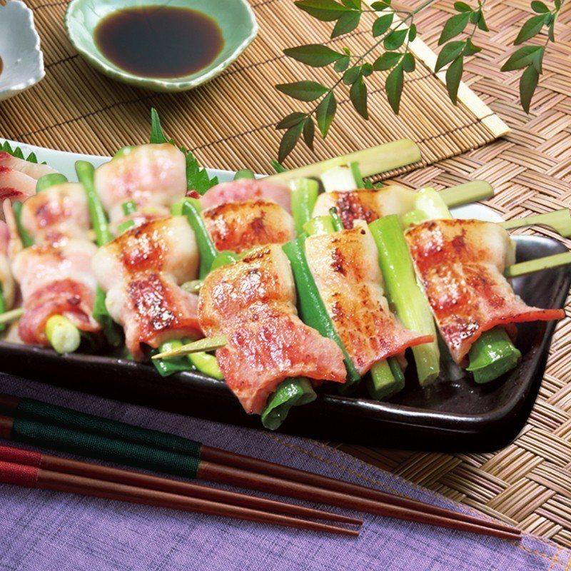西北食品蔥燒培根捲,團購價130元,8月13日開賣。圖/ihergo愛合購提供