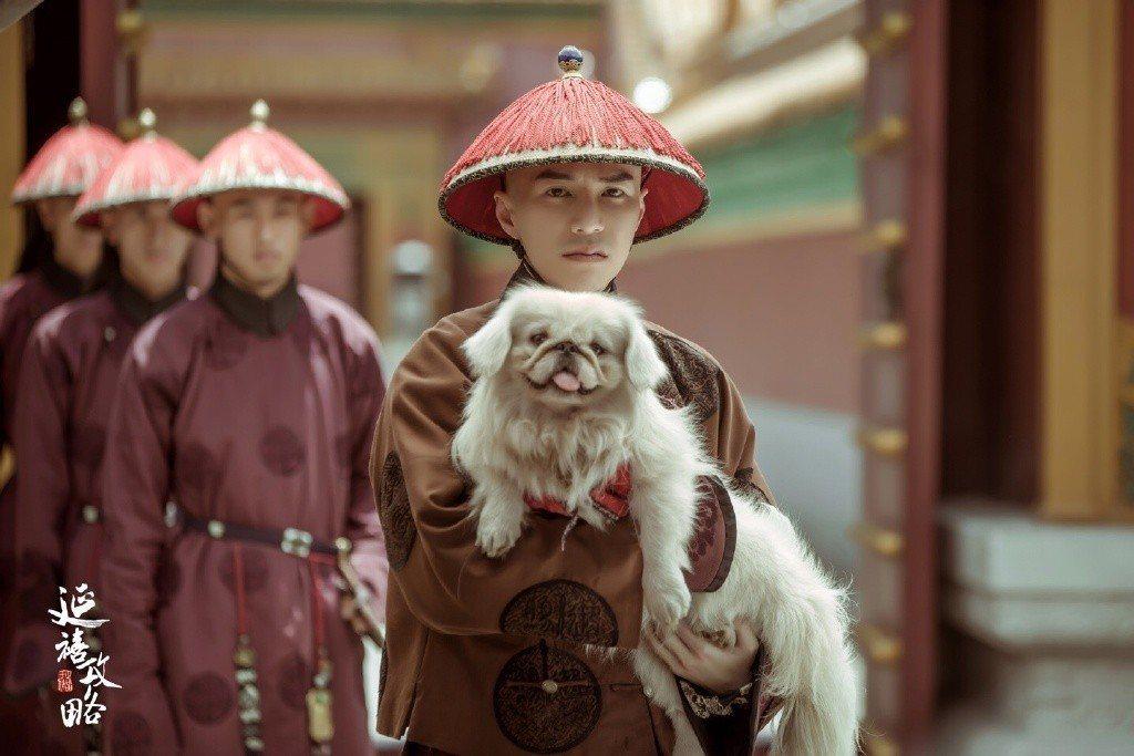 王冠逸在「延禧攻略」中飾演海蘭察侍衛。圖/摘自延禧攻略微博