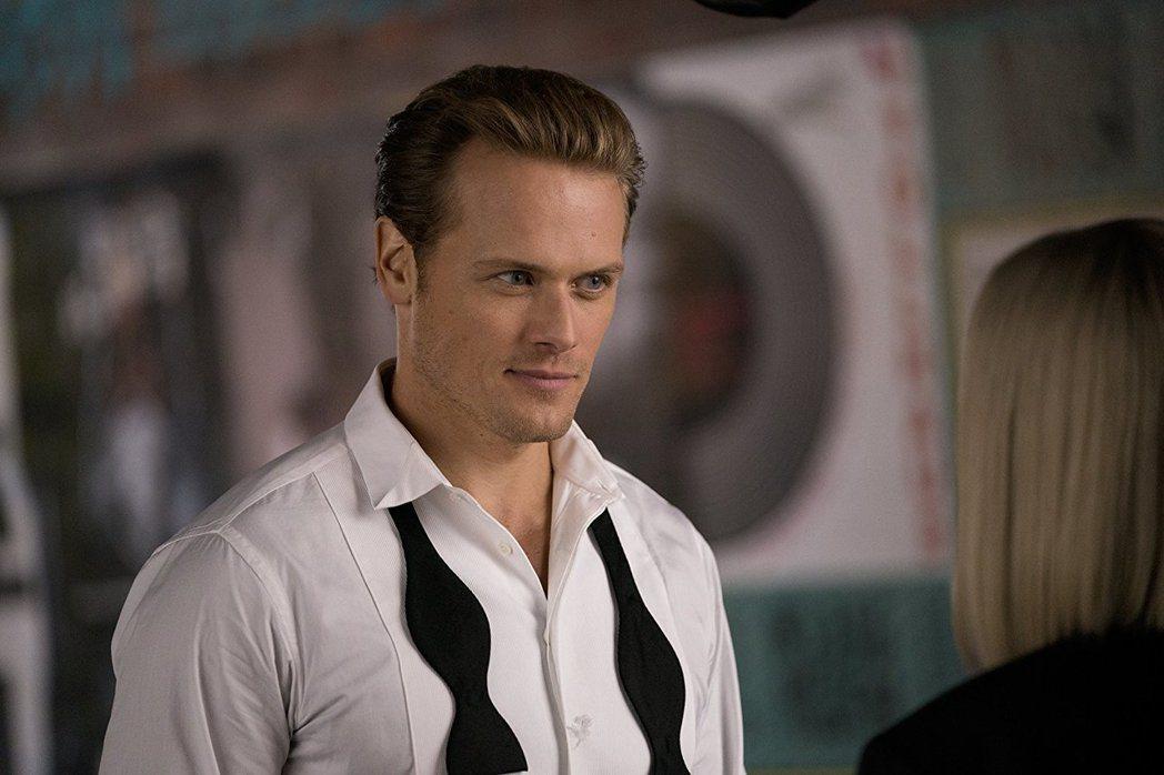 山姆修恩是歐美電視圈紅牌性感偶像,在「老娘也要當間諜」扮演英國情報員。圖/摘自i...