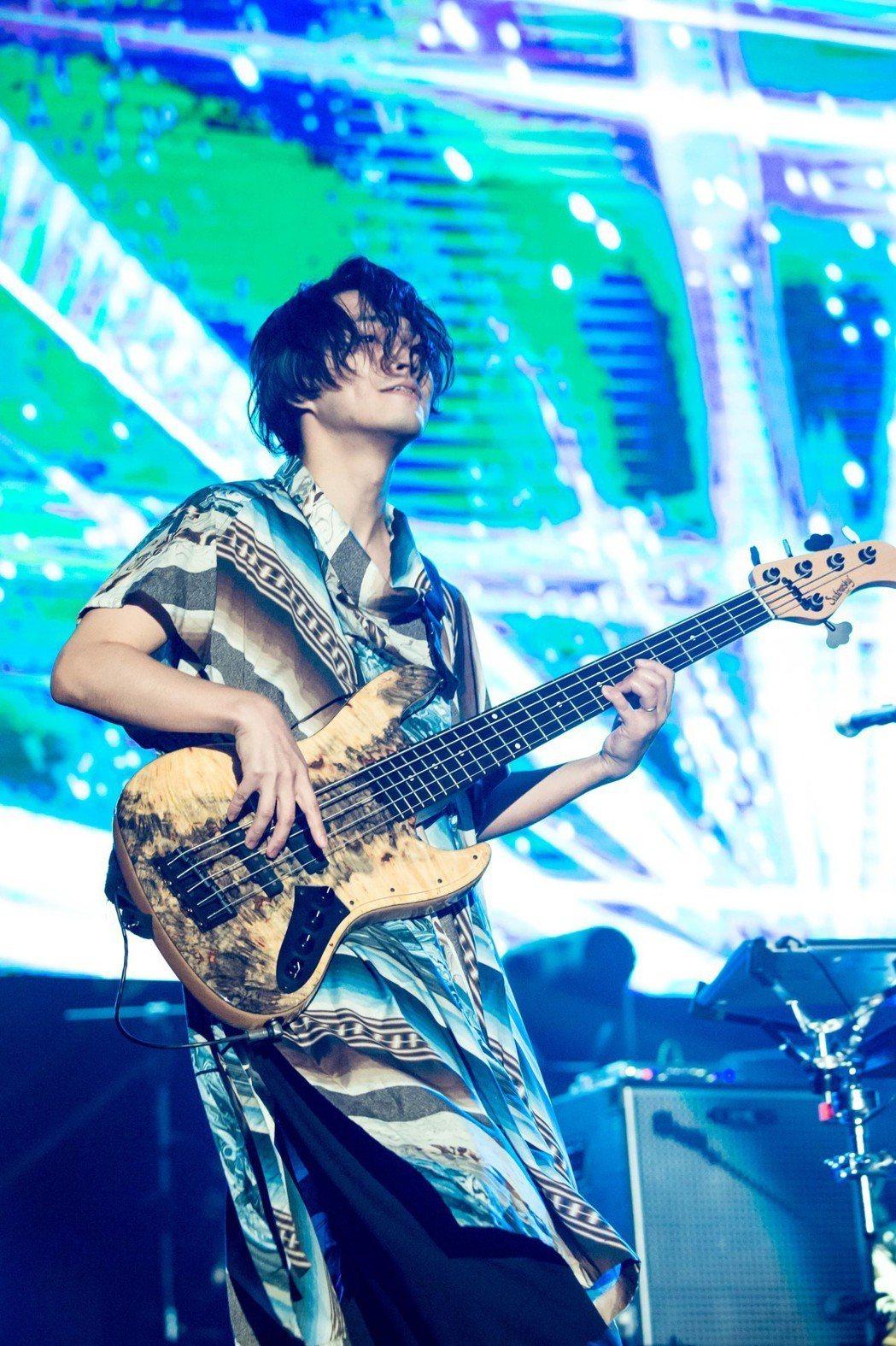 RADWIMPS演唱會氣氛熱烈。圖/Takeshi Yao
