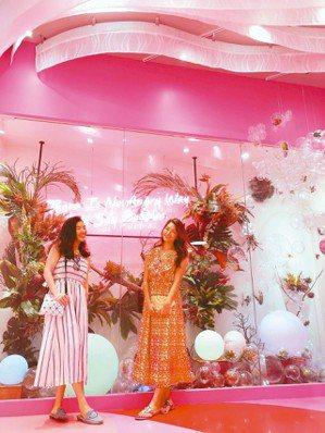 粉紅與泡泡,是兩大關鍵字。 圖/煙波飯店宜蘭館提供