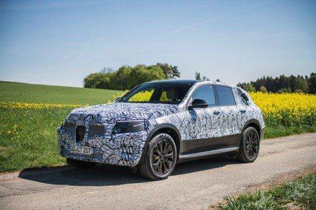 Mercedes-Benz EQC純電休旅偽裝再脫 對手直指Jaguar I-Pace!