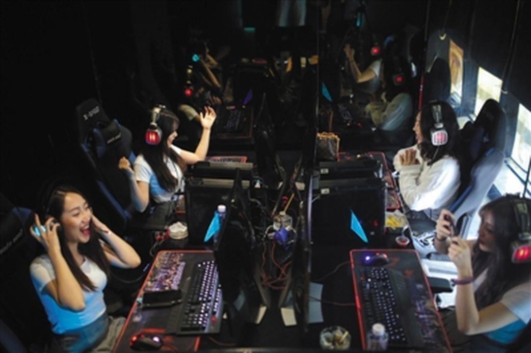 中國陪玩市場正在快速發展。 中新網