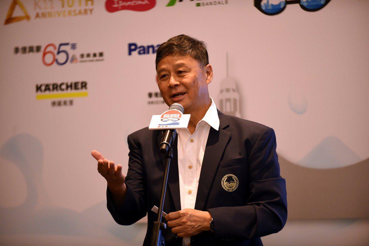 王敏超表示,泳總有按程序將合資格的泳手,包括郭家輝、伍棹然等提名交予奧委會,王敏...