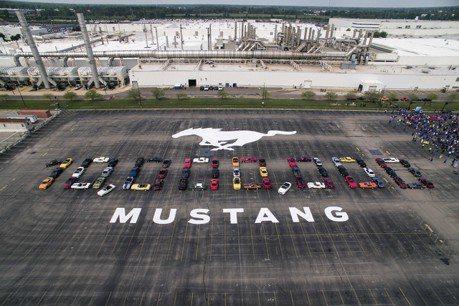 超越半世紀的經典 Ford Mustang第1000萬輛誕生