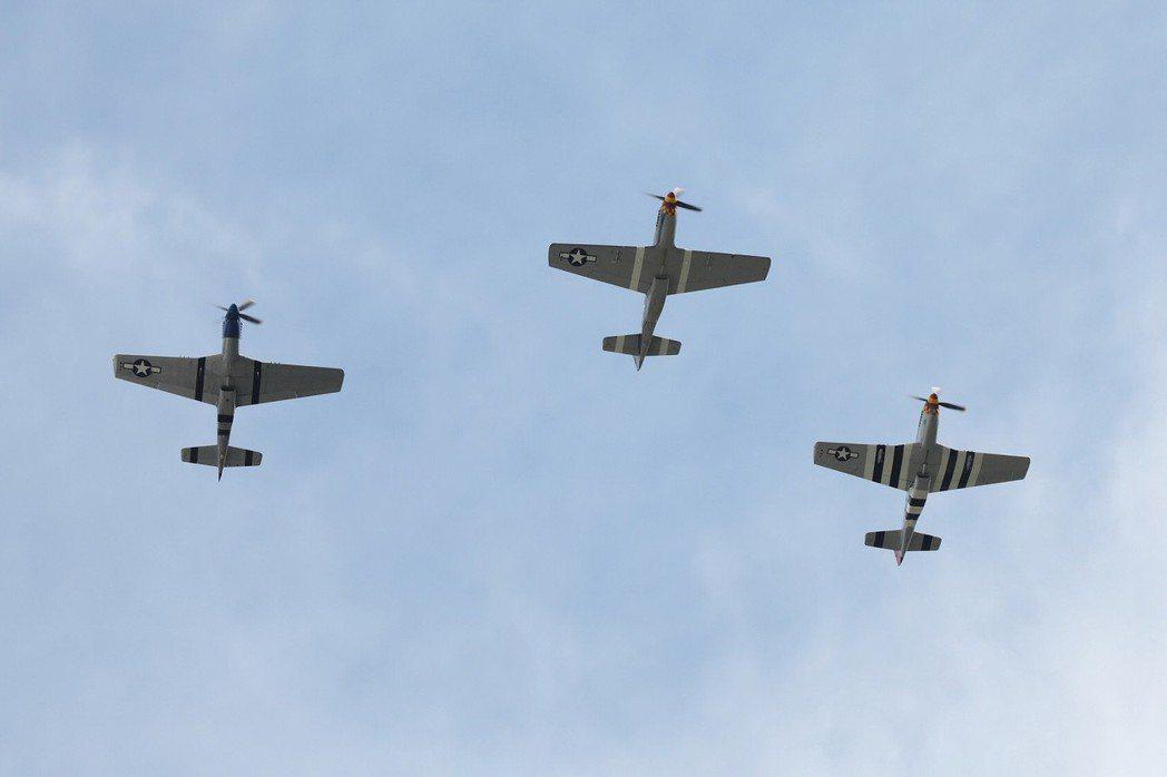 活動現場更加入Ford Mustang車款命名來源的P-51 Mustang戰鬥...