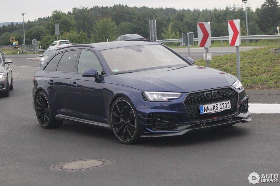 Audi RS4已經夠殺了 ABT再加值簡直頂天!
