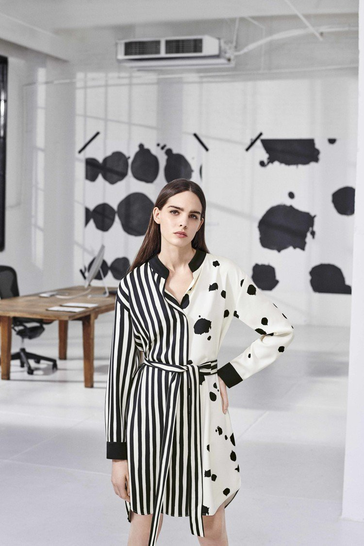 MARELLA x Quentin Jones系列連身裙,售價20,800元。圖...