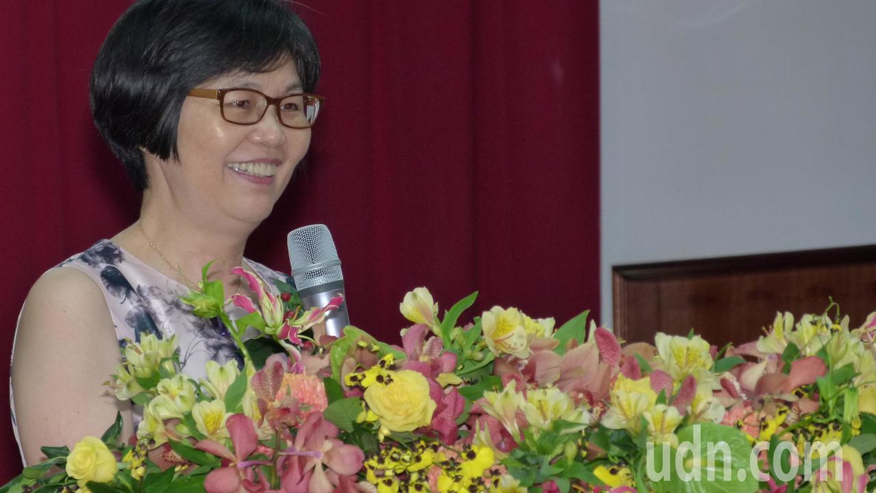 游玉婷是促成台日書法交流推手之一。記者鄭國樑/攝影