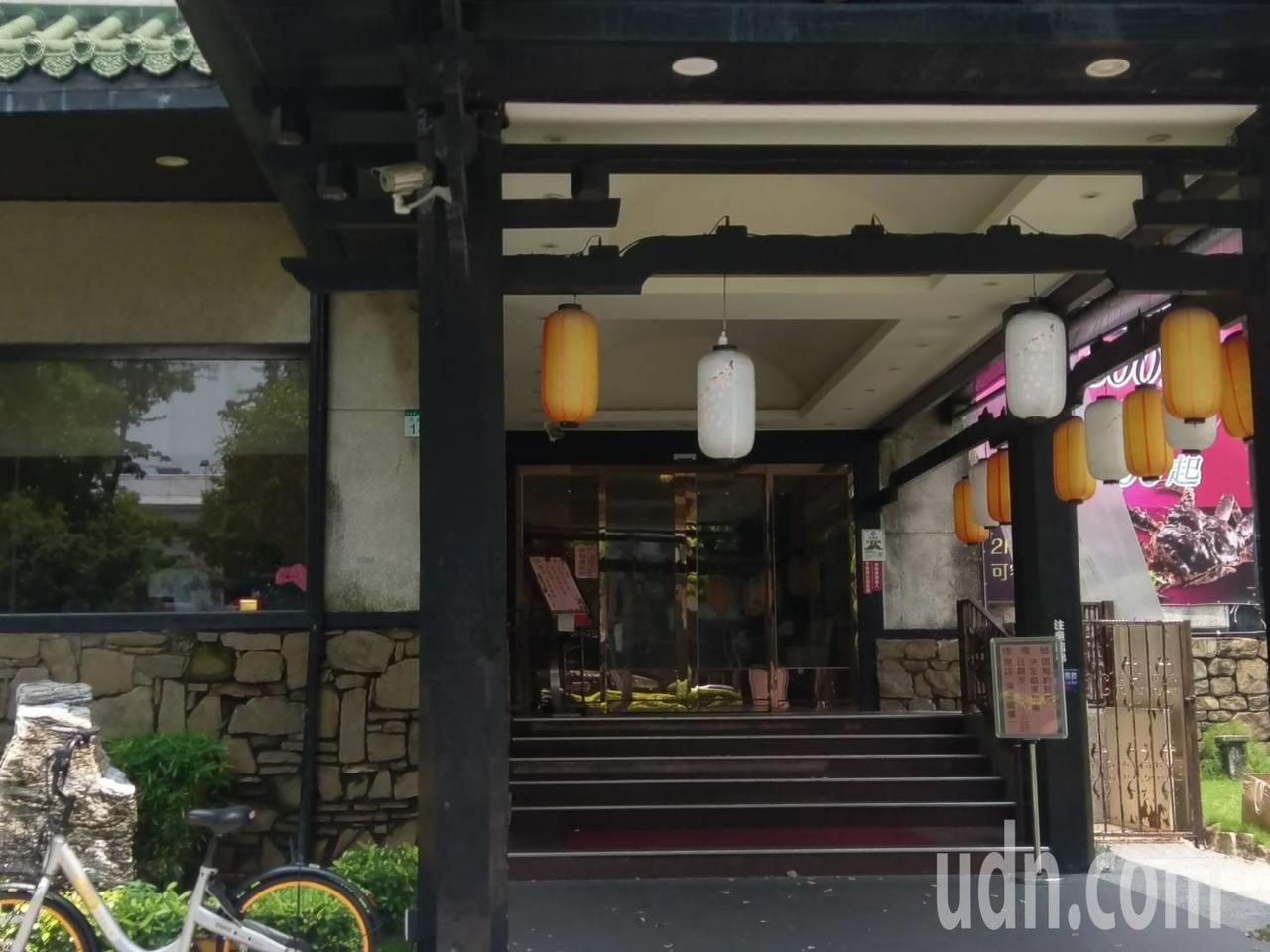 大八四維店已張貼公告營業到8月15日。記者謝梅芬/攝影