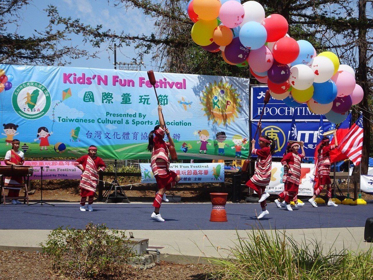「北加州台灣文化體育協會」每年暑假在加州庫比蒂諾市紀念公園舉行美國國際童玩節,和...