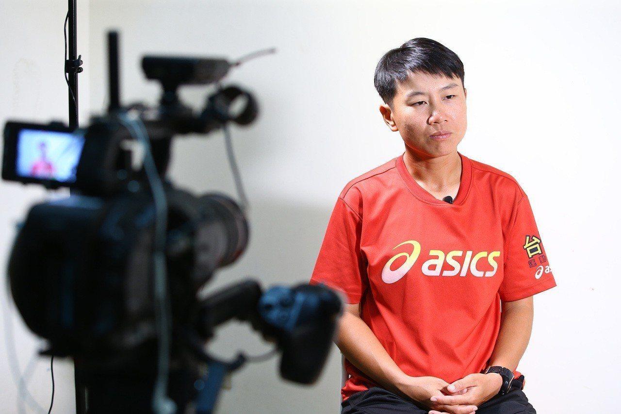 巫京薇在本屆國際同志運動會網球女單、女雙項目摘下2金,以實力對抗歧視。記者陳柏亨...