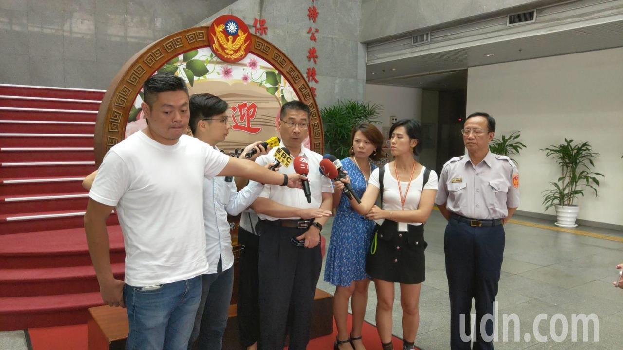 內政部長徐國勇視察台北市警察局。記者廖炳棋/攝影