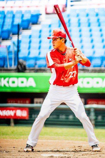 猿隊與選秀第2輪挑中的快腿內野手陳晨威達成簽約共識。圖/猿隊提供