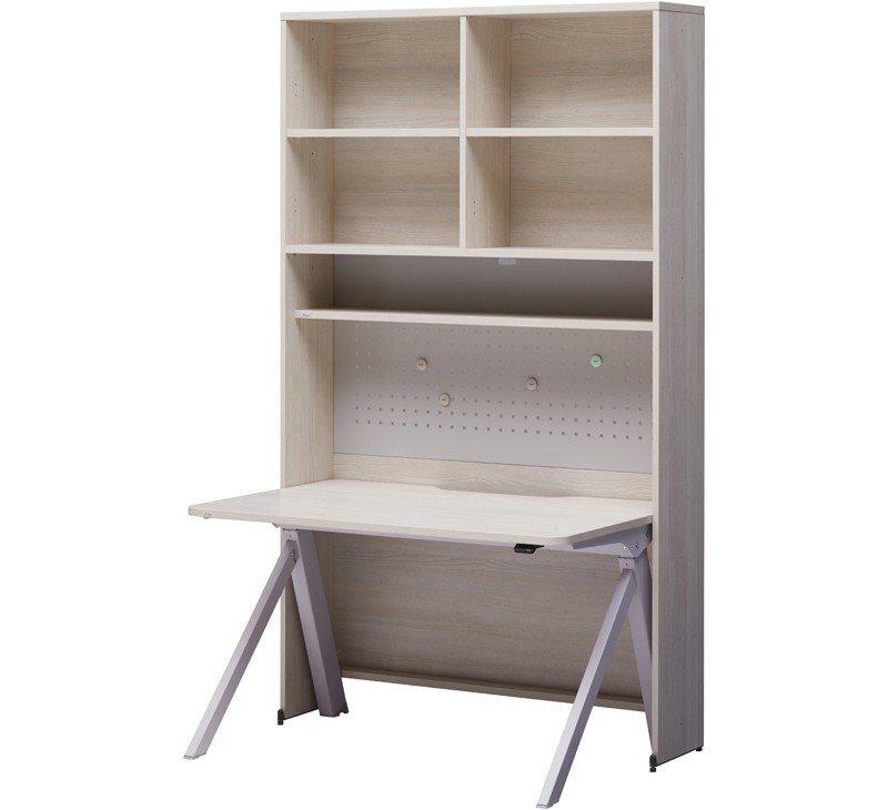 Roy 1200型6層收納型書桌組,建議售價25,800元。圖/iloom Ta...