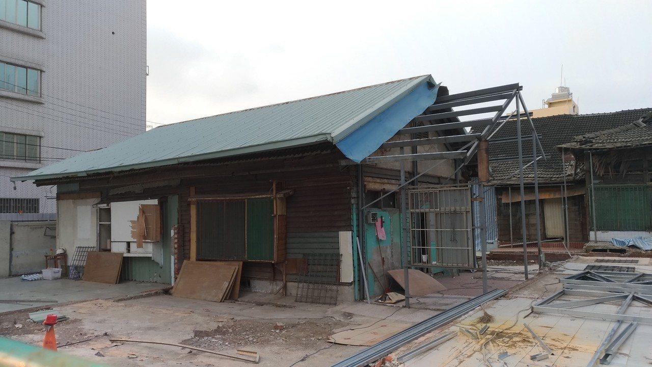 台南市定古蹟台南刑務所中的要道館浴場。圖/陳信安提供