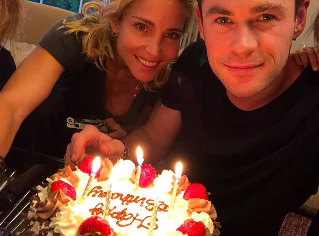 「雷神索爾」克里斯漢斯沃日前度過35歲生日,與老婆艾兒莎巴塔奇一起秀恩愛照。圖/...